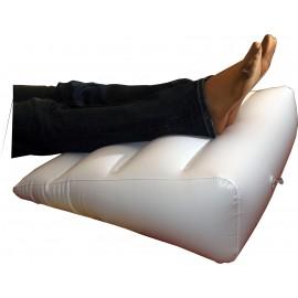 Coussin jambes lourdes et douloureuses, Coussin rehausseur gonflable