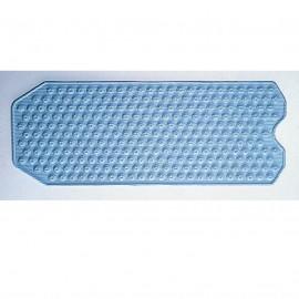 Tapis de bain antidérapant 81 cm Bleu