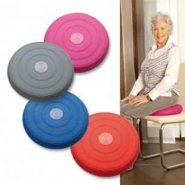 Coussin d'assise gonflable Ø 33 cm - Bleu