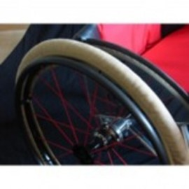 Slippers : Protection roue pour fauteuil roulant