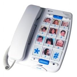 Téléphone amplifié PhotoTel - ClearSourd Geemarc