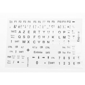 Autocollant clavier grosses touches, Clavier gros caractères stickers