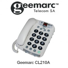 Téléphone amplifié CL210A Geemarc avec répondeur