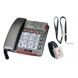 PowerTel 50 alarm plus, Téléphone amplicom à grosses touches