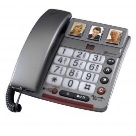 PowerTel 68 plus téléphone amplicom grosses touches photo