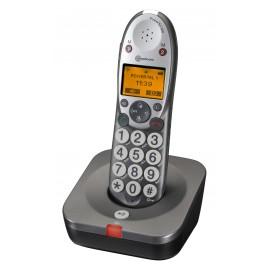 PowerTel 500 Téléphone amplicom sans fil à grosses touches