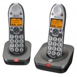 Amplicom PowerTel 502 Téléphone sans fil à grosses touches