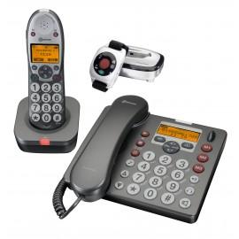 téléphone amplicom PowerTel 680 téléphone amplifié à grandes touches