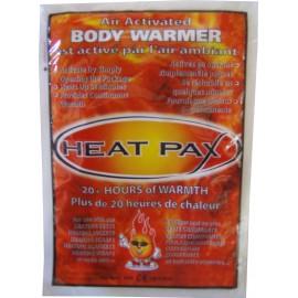 Chaufferette jetable Heat Pax Body warmer, Chaufferette de poche