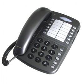 Téléfone amplifié avec voyant lumineux CL110 Geemarc