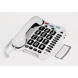 Téléphone Grandes Touches Mal Voyant Mal Entendant Sénior Personnes agées CL100 Geemarc