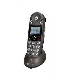 Combiné Supplémentaire Téléphone Sénior Malvoyant Malentendant Geemarc Dect 350 HS pour Combi355