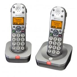 Téléphones Mal Entendant Sans Fil Forte Amplification PowerTel 702 Amplicom