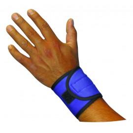 Paire de bracelets serre poignet rafraîchissants bleu