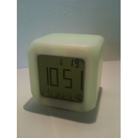 Réveil Parlant Thermomètre Gros Chiffres pour Malvoyant et Aveugle