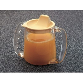 Tasse 2 Anses AA5710Y Caring, Transparent, Petite ouverture, Base large et stable