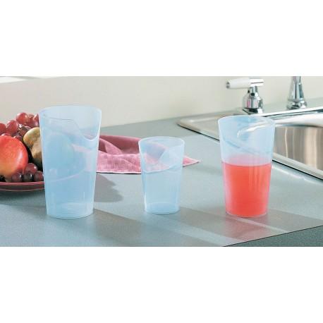 Verre Découpe Nasale 115 ml KINETEC 1149 Polypropylène solide