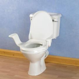 Siège de toilettes Nobi avec accoudoirs - classique