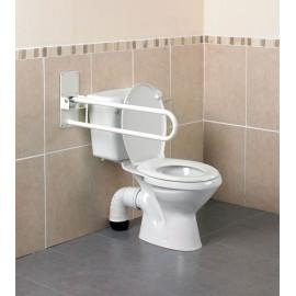 Barre Appui WC Pliante Devon, Se fixe au mur, Kinetec AA2002