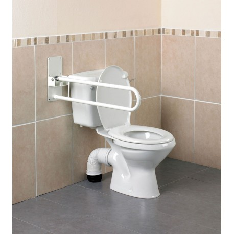 Barre d'Appui WC Pliante, Solide Devon Kinetec AA2000