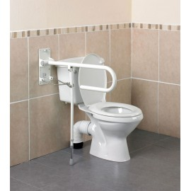 Barre Appui WC Pliante avec Pied 76 cm Devon Kinetec AA2018