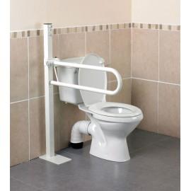 Barre d'Appui WC sur Pied, Pliante 55 cm Hauteur réglable Devon Kinetec AA2024