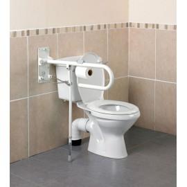 Kinetec AA2028 Porte Rouleau Papier Toilette sur Barre d'appui WC