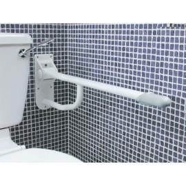 Barre Handicapé WC Pliante Acier Ovale Kinetec AA2043