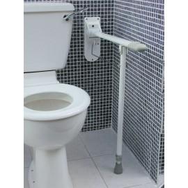 Barres d'Appui WC Pied Pliante, Hauteur ajustable, Kinetec AA2044