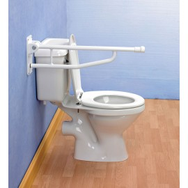 Barre Handicapé WC Aluminium Pliante Devon Elite Kinetec 091165695