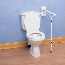 Barre Appui Toilettes Pliante Pied ajustable Devon Elite Kinetec 091173145