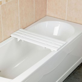 Planche de Bain à Lattes Medeci 69,9 cm Plastique blanc Kinetec AA1090B