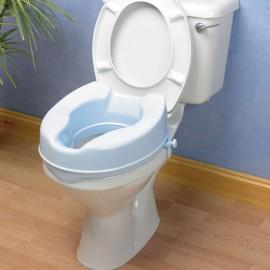 Réhausse WC 10 cm Bleue avec Couvercle Savanah Kinetec 091156744