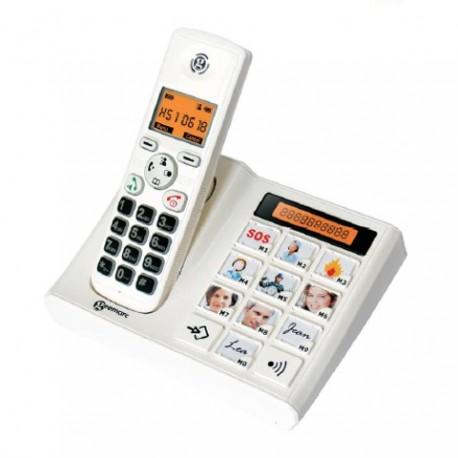 Téléphone sans fil grosses touches - PhotoDect