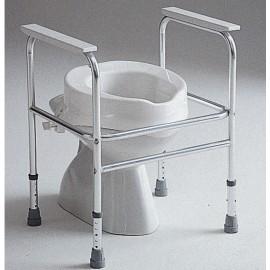 Cadre de Toilette Aluminium