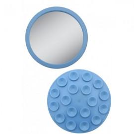 Miroir Grossissant Mural à Ventouses X12 EZ-GRIP Bleu
