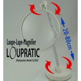Loupe mains-libres Multipositions X3 - Loupratic Classic