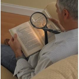 Loupe Main Libre, De lecture, Lumineuse, A main, Pour lire