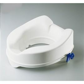 Surélévateur de toilette - Fixation pattes - 14 cm