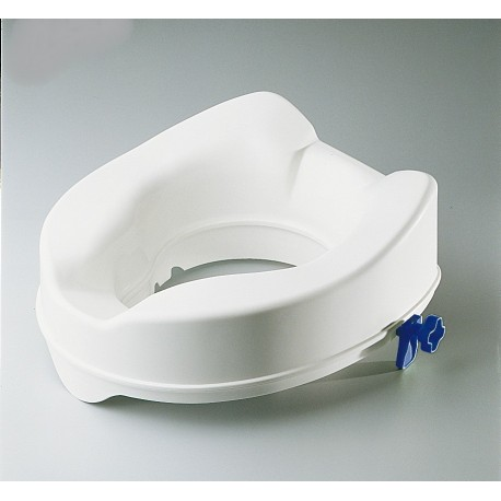 Rehausseur de Toilettes 14 cm Fixation avec Pattes, Découpe avant et arrière