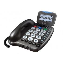 Téléphone Malvoyant, Grosses Touches, Geemarc CL455, Malentendant, Répondeur