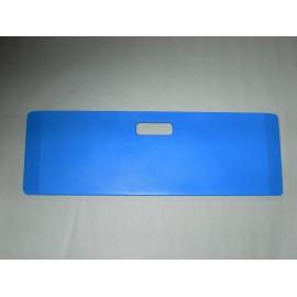 Planche de Transfert droite en bois, Bleu, 70 x 23 cm