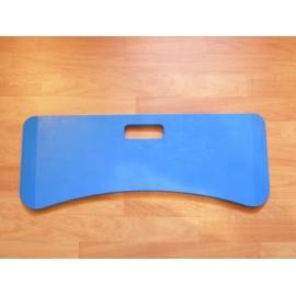 Planche de Transfert Forme Arrondie, en Bois, Légère, Bleu