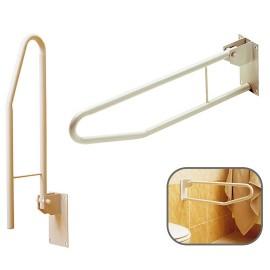 Barre Handicapé WC Rabattable, Longueur : 70 cm