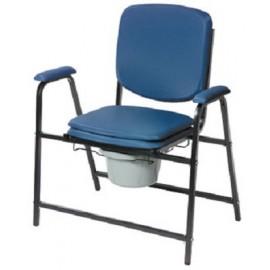 Chaise Percée pour Personnes Fortes ou Obèses. Poids max. : 160 kg