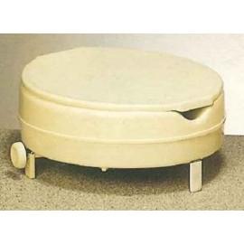 Rehausseur WC 15 cm avec Couvercle, Abattant