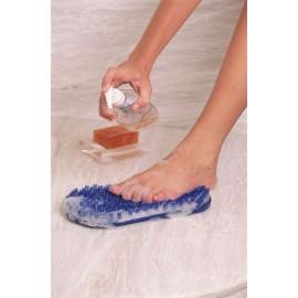 Brosse Pieds Soapy Soles, Lave et masse les pieds, Pour le corps, Ventouses
