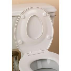 Lunette de Toilettes pour Adulte et Enfant, Abattant de WC