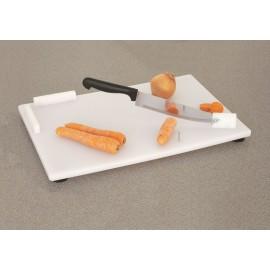 Planche à Découper Polypropylène, Couteau de chef incorporé, Personnes handicapées