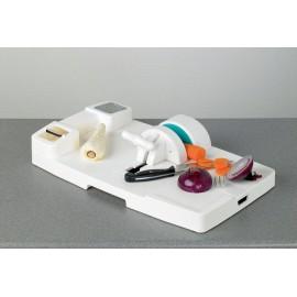 Planche à découper polypropylène, Epluche légumes, Râpe légumes, Mandoline HOMECRAFT